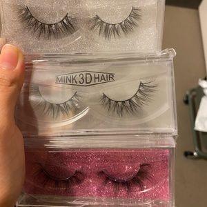 Three Super cute lashes BRAND NEW